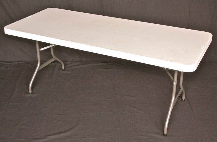 6 foot tressle tables