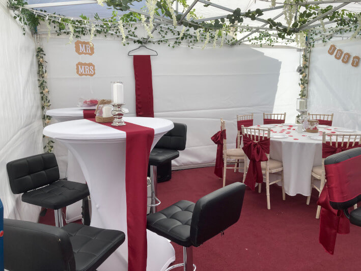 Small marquees and gazebos interior #4