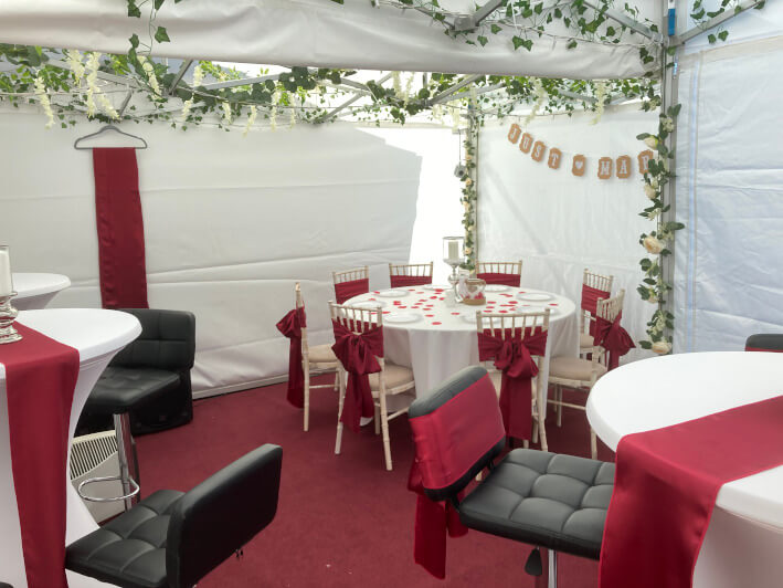 Small marquees and gazebos interior #2